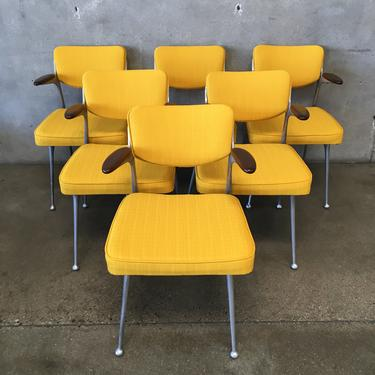 """Mid Century Shelby Williams Style """"Fiazelle"""" Chairs by Lion Brand"""