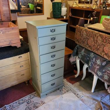 SOLD. Seven Drawer Lingere Chest. 15.5x20x49