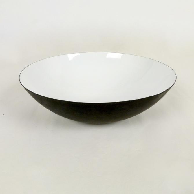 X-LG Enameled Steel Bowl By Herbert Krenchel