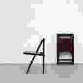1950's Aldo Jakober Folding Chairs with Slat Seats