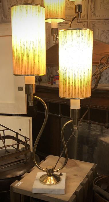MCM Double Light Lamps