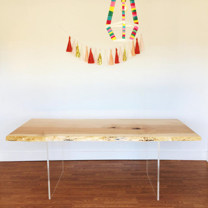 Live Edge Custom Dining Table Quote by TheBeardedBowtie