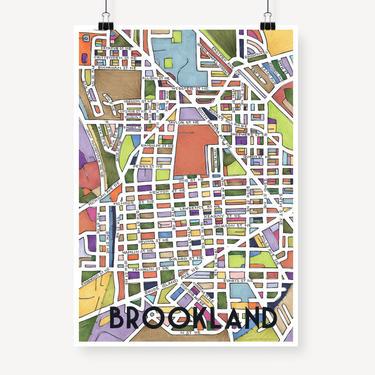 Brookland Print