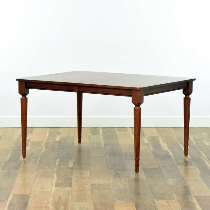 American Traditional Dining Table W/ Leaf