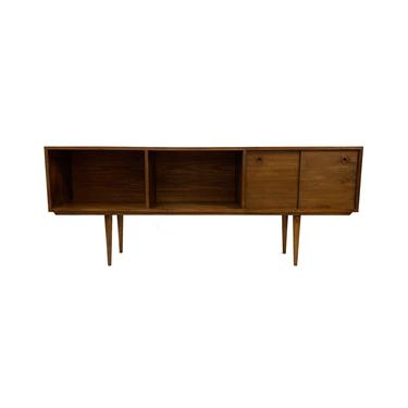 Modern Handmade Record Console In Walnut by minthome