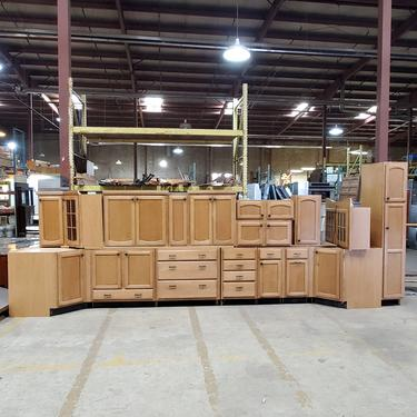 Kraftmaid Stained Kitchen Cabinets