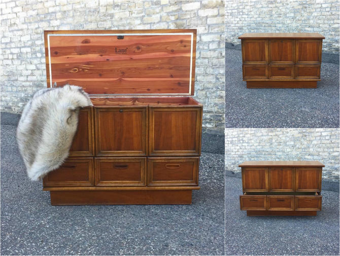 Extra Large Lane Cedar Chest With Drawer