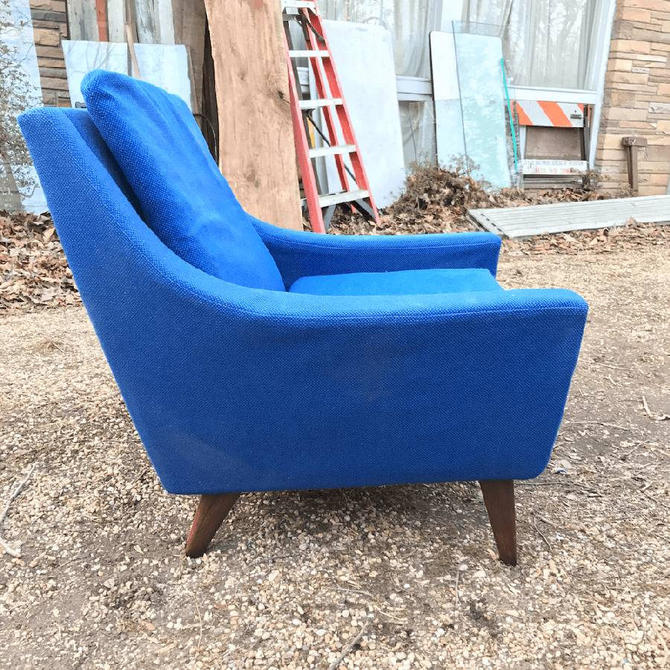 Vintage Mid-Century Brazilian Rosewood Danish Sitamo Mobler Arm Chair Lounge PROJECT NEEDS UPHOLSTERY by BrainWashington