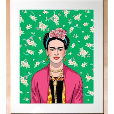 Frida Kahlo - Artista Mexicana Print