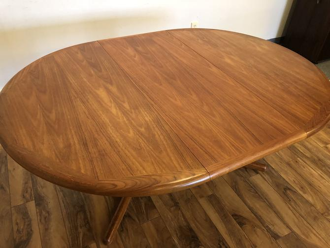 E. Valentinsen Round Teak Dining Table