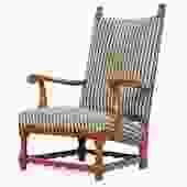 Scandanivian High Back Chair