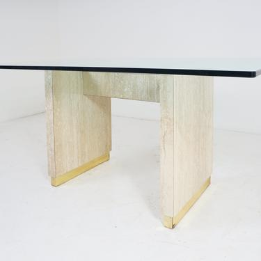 Faux Travertine Table by BetsuStudio