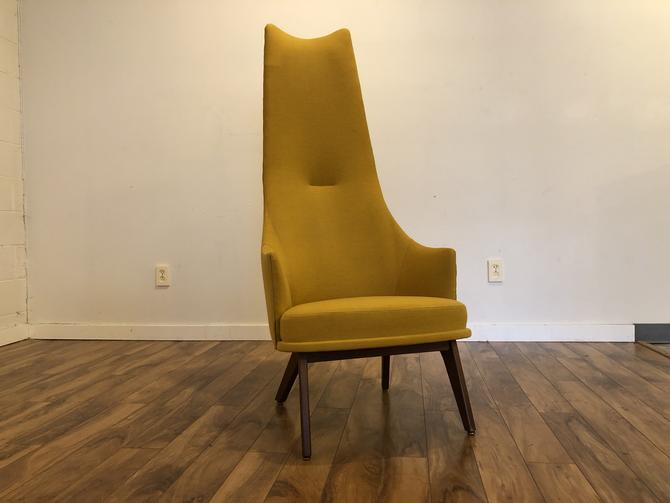 Pearsall Tall Mid Century Chair