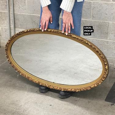 LOCAL PICKUP ONLY ———— Vintage Wall Mirror by RetrospectVintage215