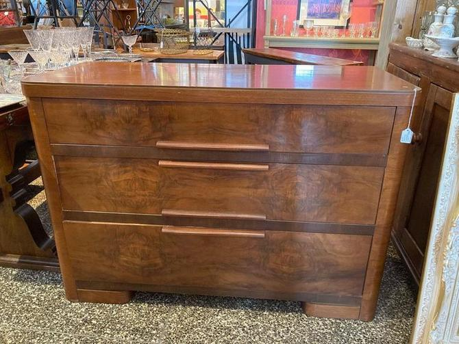 """Pretty 3 drawer chest by the cavalier furniture company. 48"""" x 20.5"""" x 34"""""""