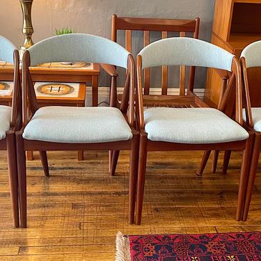 Vintage Danish Kai Kristiansen Model 31 Dining Chairs in Teak -set of 4
