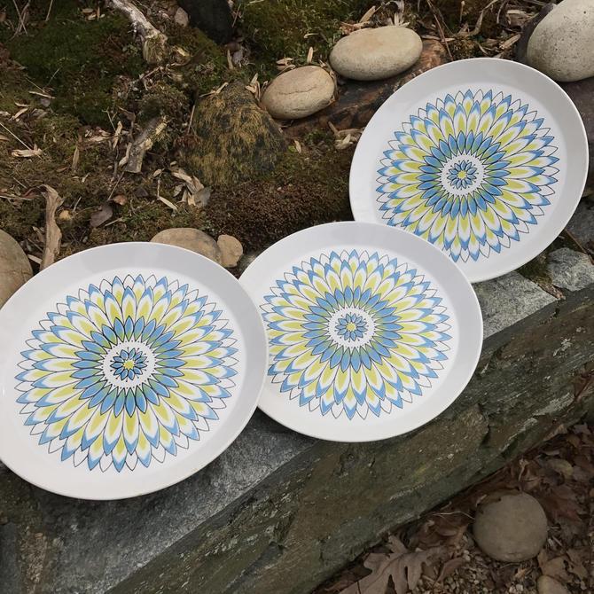 Ben Seibel Duplex Granada Rare Mikasa Japan Ceramics Chop Plates