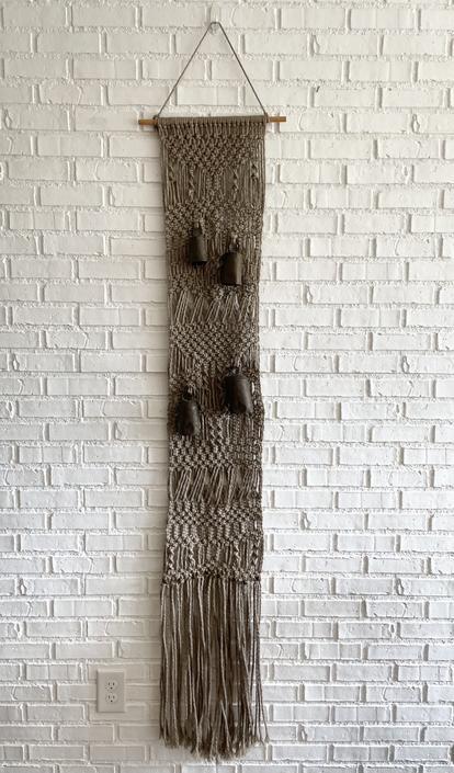 1970's Macrame Wall Hanging