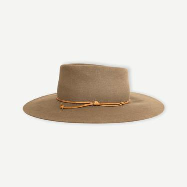 Vintage 1960s THOROUGHBRED Cowboy Hat ~ size 7 1/4 ~ Cowboy ~ 8X Fur Felt Fedora ~ Wide Brim ~ Gambler by SparrowsAndWolves