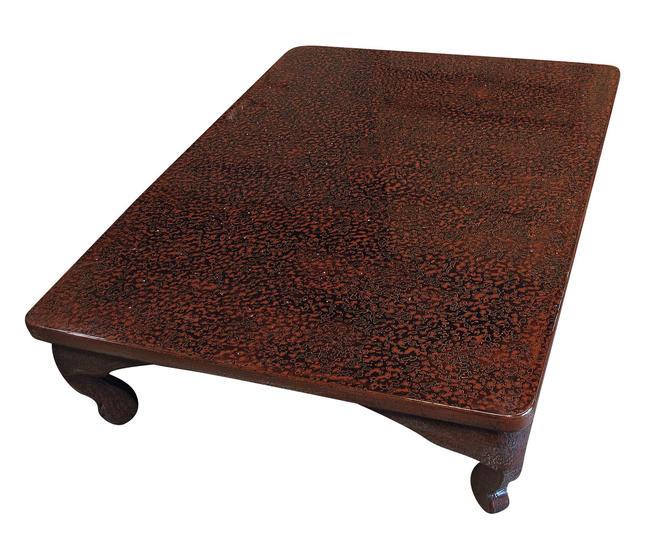 15M183 Tsugaru Lacquer Table / SOLD