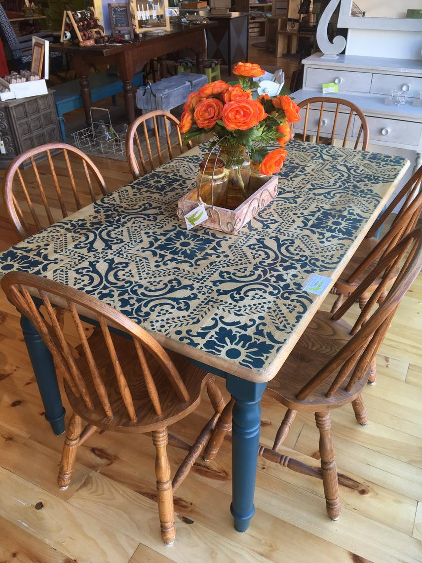 Boho Lace Dining Table From Tanglewood Works Of