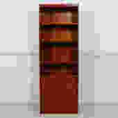 Slim Danish Teak Bookcase / Storage / Display Cabinet