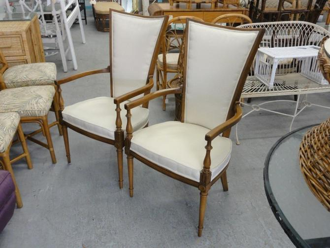 Pair of Hollywood Regency Occasional Chairs