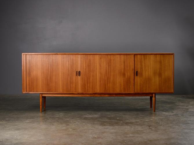 Long Arne Vodder Mid Century Teak Sideboard Danish Modern by MadsenModern
