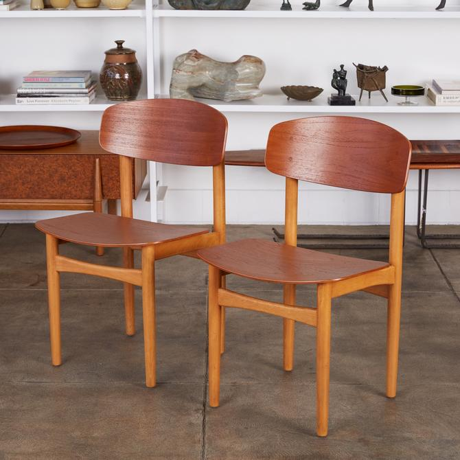 Pair of Børge Mogensen Dining Chairs