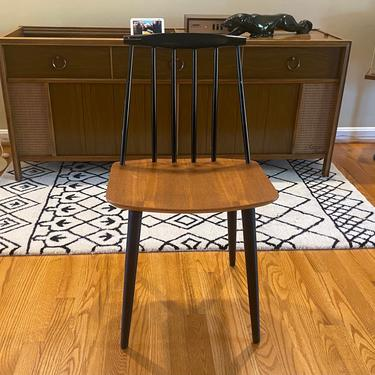 Authentic Folke Pålsson's J77 Dining Desk Occasional Chair Midcentury Modern MCM by MSGEngineering