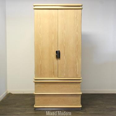 Oak Armoire Dresser by Jay Spectre by mixedmodern1