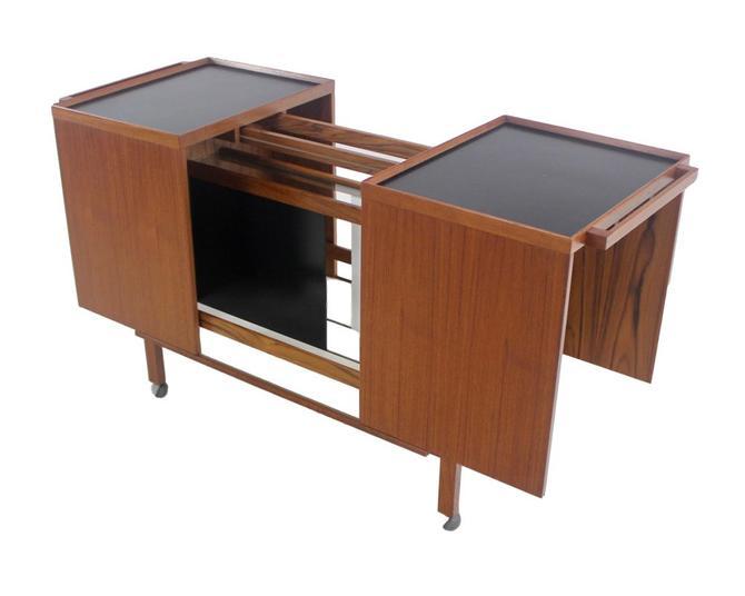 Scandinavian Modern Bar Cabinet Designed by Niels Erik Glasdam