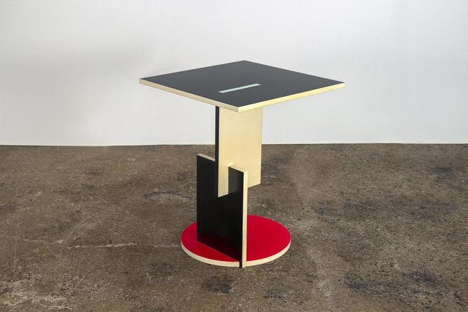 De Stijl Side Table by Gerrit Rietveld by openairmodern
