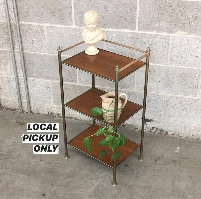 LOCAL PICKUP ONLY ------------- Vintage Shelving Unit by RetrospectVintage215