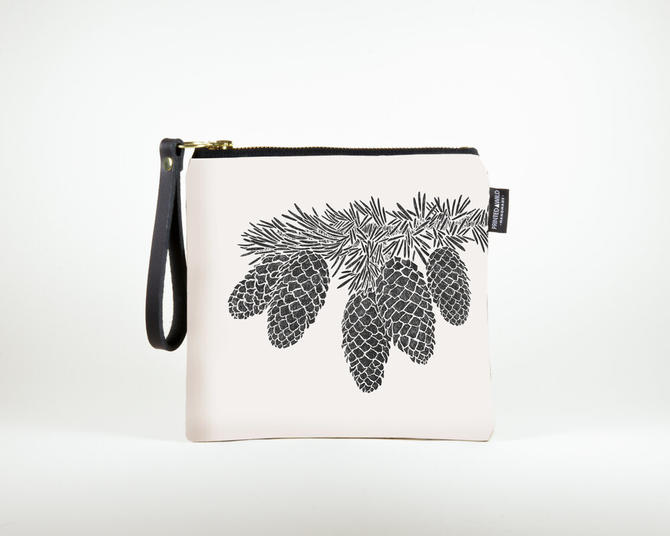 "Square Clutch ""Epicea"""