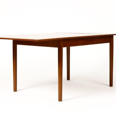 Danish Modern / Mid Century Teak Expandable Dining Table — Rectangular — Butterfly Leaf — Dalescraft by atomicthreshold