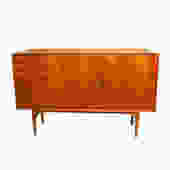 Rare Arne Vodder Danish Modern Teak Highboard