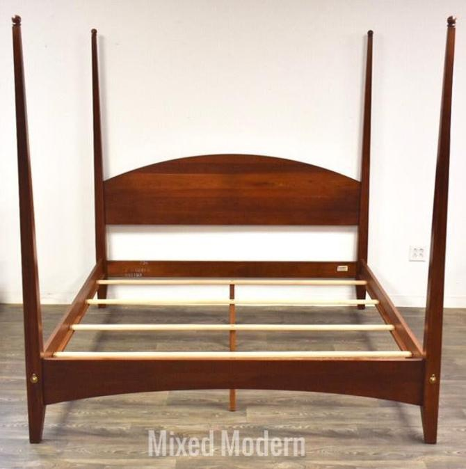 Ethan Allen American Impressions Solid Cherry King Bed by mixedmodern1