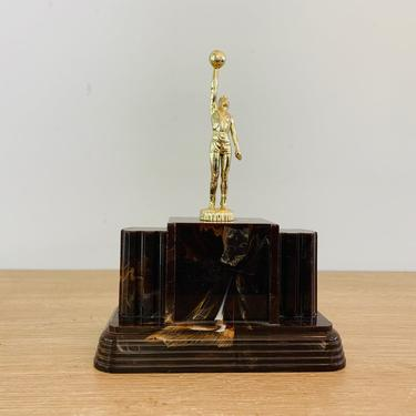 Vintage Basketball Trophy by DelveChicago