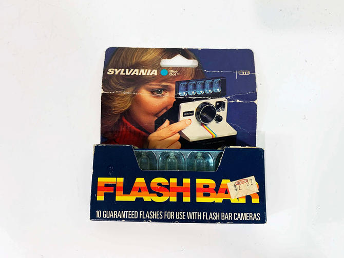 True Vintage Polaroid Flash Bar Sylvania Flashbar SX-70 Land Camera Film Accessory Accessories Instant Photography Photographer by CheckEngineVintage