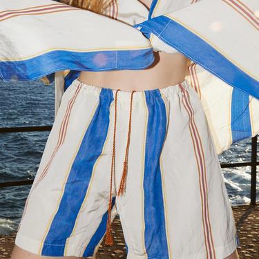 Terra Wide Klein Stripes Calobra Shorts