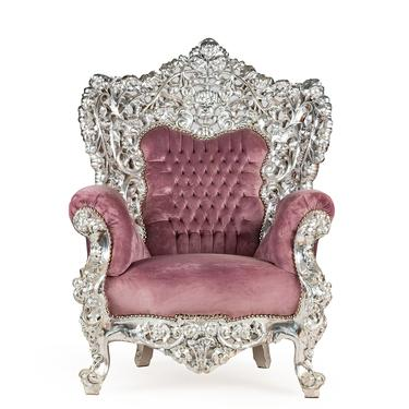 Baroque Chair Throne Vintage Chair Vintage Sofa *3 Piece Available) Velvet Antique Chair Vintage Furniture Tufted Chair French Furniture by SittinPrettyByMyleen