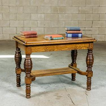 Quartersawn Library Table