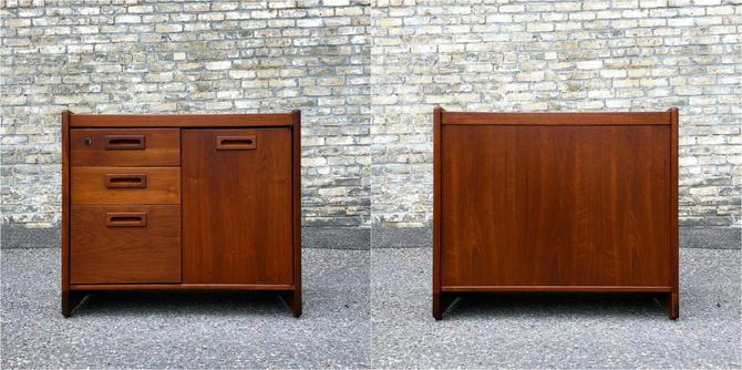 Jens Risom Design Walnut Cabinet