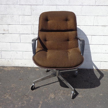 Office Chair Knoll Steelcase Task Armchair Desk Mid Century Modern Charles Pollock Computer Eames Writing Swivel Lounge Vintage Seating by DejaVuDecors