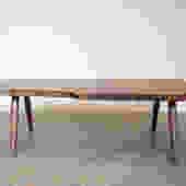 Coffee Table - Live Egde Walnut Slab by Dylan Design Co. by OlivrStudio