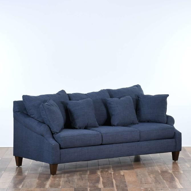 Birch Lane Heritage Normanson Indigo Blue Sofa