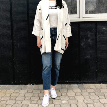 Linen jacket one by shopjoolee