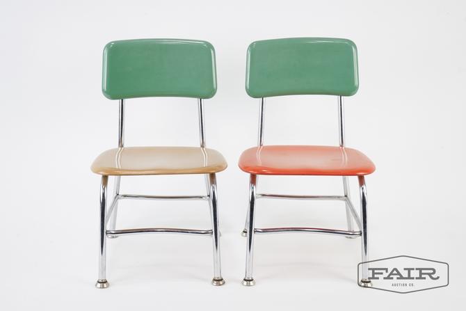 Pair of Heywood Wakefield Children's Chairs