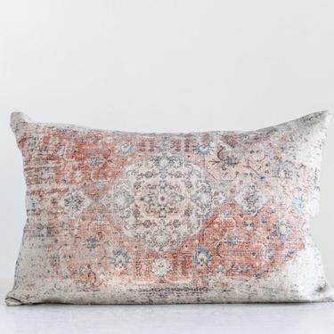 Overdyed Boho Lumbar Pillow